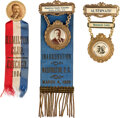 """Political:Pinback Buttons (1896-present), Theodore Roosevelt: Three """"Better"""" Badges...."""