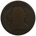 1802/0 1/2 C Reverse of 1802 Good 4 PCGS. PCGS Population: (29/137 and 0/0+). NGC Census: (0/0 and 0/0+). CDN: $625 Whsl...