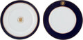 Political:3D & Other Display (1896-present), Ronald Reagan: Two Presidential China Plates.... (Total: 2 Items)