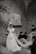 Photographs, Frank Horvat (French, 1928). Vogue Italy, Sposa, Bride with Priests, 1961. Gelatin silver print, print...