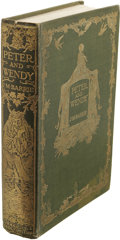 Books:First Editions, J.M. Barrie: Peter and Wendy. (London: Hodder &Stoughton, [1911]), first edition, 207 pages, thirteenillustrations by ...