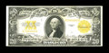Large Size:Gold Certificates, Fr. 1187 $20 1922 Gold Certificate Very Fine. Even wear and just a trace of serial number embossing is found on this $20....