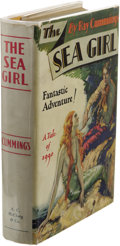 Books:First Editions, Ray Cummings: Signed The Sea Girl. (Chicago: A.C. McClurg,1930), first edition, 302 pages, signed by the author on the ...