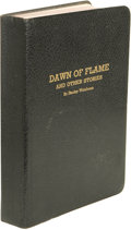 Books:First Editions, Stanley Weinbaum: Dawn of Flame and Other Stories. (Jamaica:Rupert Printing Service (Milwaukee Fictioneers), 1936), fir...