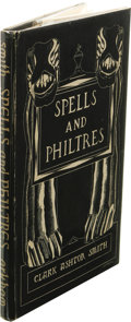 Books:First Editions, Clark Ashton Smith: Spells and Philtres. (Sauk City: ArkhamHouse, 1958), first edition of 519 copies printed, 54 pages,...
