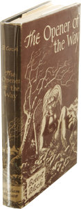 Books:First Editions, Robert Bloch: The Opener of the Way. (Sauk City: ArkhamHouse, 1945), first edition, 309 pages, black cloth with gilt le...