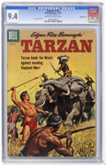 Silver Age (1956-1969):Adventure, Tarzan #122 Double cover (Dell, 1961) CGC NM 9.4 Off-white to white pages....