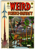 Golden Age (1938-1955):Science Fiction, Weird Science-Fantasy #25 (EC, 1954) Condition: FN/VF....