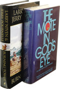 Books:Signed Editions, Larry Niven and Jerry Pournelle: Lot of Two Signed Books,including:. The Monte in God's Eye. (New York: Simon andS... (Total: 2 )