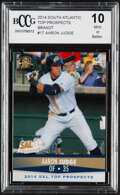 Baseball Cards:Singles (1970-Now), 2014 Brandt South Atlantic Top Prospects Aaron Judge #17 BCCG 10 Mint or Better....