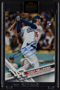 """Baseball Cards:Singles (1970-Now), 2021 Topps Archives Signature Series Cody Bellinger """"2017 Topps Update - Serial #'d 1/1, Factory Sealed...."""