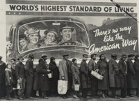 Margaret Bourke-White (American, 1904-1971) At the Time of the Louisville Flood, Louisville, Kentucky, 1937 Gelatin si...