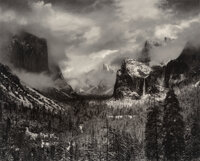 Ansel Adams (American, 1902-1984) Clearing Winter Storm, Yosemite Valley, California, 1944 Offset lithograph, printed...