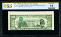 Error Notes:Third Printing on Reverse, Type II Inverted Overprint on Back Error Fr. 2080-G $20 1993 Federal Reserve Note. PCGS Banknote Choice Unc 64.. ...