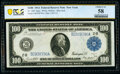 Large Size:Federal Reserve Notes, Fr. 1091 $100 1914 Federal Reserve Note PCGS Banknote Choice AU 58.. ...