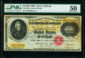 Fr. 1225h $10,000 1900 Gold Certificate PMG About Uncirculated 50