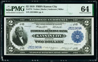 Fr. 774 $2 1918 Federal Reserve Bank Note PMG Choice Uncirculated 64