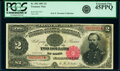 Large Size:Treasury Notes, Fr. 356 $2 1891 Treasury Note PCGS Extremely Fine 45PPQ.. ...
