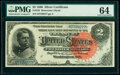 Fr. 242 $2 1886 Silver Certificate PMG Choice Uncirculated 64