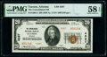 National Bank Notes:Arizona, Tucson, AZ - $20 1929 Ty. 2 The Consolidated National Bank Ch. # 4287 PMG Choice About Unc 58 EPQ.. ...