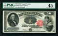 Large Size:Legal Tender Notes, Fr. 164 $50 1880 Legal Tender PMG Choice Extremely Fine 45.. ...