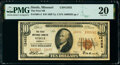 Steele, MO - $10 1929 Ty. 2 The First National Bank Ch. # 12452 PMG Very Fine 20