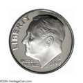 Proof Roosevelt Dimes: , 1998-S 10C Silver PR70 Deep Cameo PCGS. Fully struck and ...