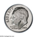 Proof Roosevelt Dimes: , 2002-S 10C Clad PR69 Deep Cameo PCGS. Meticulously struck ...