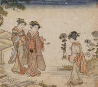 Japanese School (20th Century) Nine Woodblocks woodblock on paper 9-3/4 x 6-1/2 inches (24.8 x 16.5 cm) (largest work...