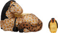 Luxury Accessories:Bags, Judith Leiber Set of Two: Horse Minaudière and Penguin Pill Box. Condition: 3. See Extended Conditi...