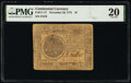 Continental Currency November 29, 1775 $7 PMG Very Fine 20