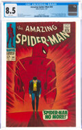 Silver Age (1956-1969):Superhero, The Amazing Spider-Man #50 (Marvel, 1967) CGC VF+ 8.5 White pages....