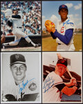 Autographs:Photos, Baseball Hall of Famers Single Signed Photographs, Lot of ...
