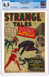 Strange Tales #106 (Marvel, 1963) CGC FN+ 6.5 Off-white pages