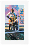 Movie Posters:Original Art, Harley-Davidson by Tom Fritz (Harley Davidson, 1999). Rolled, Very Fine+. Signed and Hand Numbered Limited Edition Art Print... (Total: 4 Items)