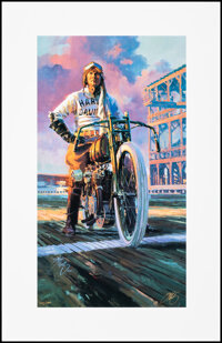 Harley-Davidson by Tom Fritz (Harley Davidson, 1999). Rolled, Very Fine+. Signed and Hand Numbered Limited Edition Art P...