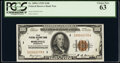 Fr. 1890-I $100 1929 Federal Reserve Bank Note. PCGS Choice New 63