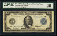 Fr. 1031a $50 1914 Federal Reserve Note PMG Very Fine 20
