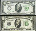 Fr. 2007-B*; G* $10 1934B Federal Reserve Star Notes. Fine-Very Fine; Very Fine. ... (Total: 2 notes)