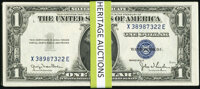 Fr. 1613W $1 1935D Wide Silver Certificates. Extremely Fine or Better (26); Fr. 1613N $1 1935D Narrow Silver Certificate...