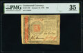 Colonial Notes:Continental Congress Issues, Continental Currency January 14, 1779 $60 PMG Choice Very Fine 35.. ...