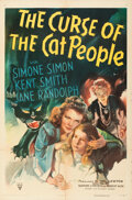 Movie Posters:Horror, The Curse of the Cat People (RKO, 1944). Folded, Very Fine...