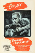 Movie Posters:War, Passage to Marseille (Warner Bros., 1944). Folded, Very Fi...