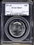 Kennedy Half Dollars: , 1971-D MS65 PCGS. ...