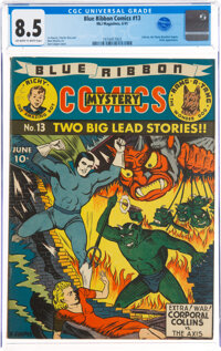 Blue Ribbon Comics #13 (MLJ, 1941) CGC VF+ 8.5 Off-white to white pages