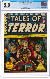 Tales of Terror Annual #1 (EC, 1951) CGC VG/FN 5.0 Off-white to white pages