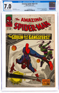 The Amazing Spider-Man #23 Steve Ditko Collection (Marvel, 1965) CGC FN/VF 7.0 Cream to off-white pages