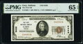 Gary, IN - $20 1929 Ty. 1 The First National Bank Ch. # 8426 PMG Gem Uncirculated 65 EPQ