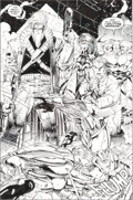 Original Comic Art:Story Page, Jim Lee and Scott Williams WildC.A.T.S: Covert Action Teams Trade Paperback #1 Splash Page 24A Original Art (I...
