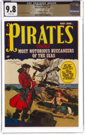 Golden Age (1938-1955):Adventure, Pirates Comics #2 The Promise Collection Pedigree (Hillman Publications, 1950) CGC NM/MT 9.8 Off-white pages....